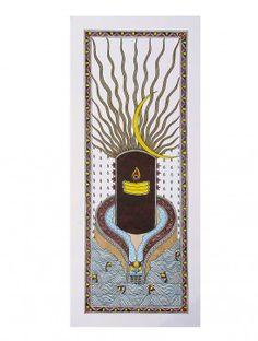 Lord Shiva Madhubani Painting