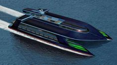 ocean empire lsv - This superyacht lets you sail into the future with looks of sci-fi inspiration that offers eco-friendly luxury on the beautiful Ocean Empire LSV.  ...