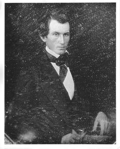 Alexander Haight, portrait. Author(s): Unknown. Photograph reproduction of Alexander Haight from a deguerrotype. In this image Haight is seated and wearing a dark suit and tie. Public domain. There are no known use restrictions. http://hdl.handle.net/1920/6427