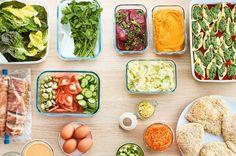 En seulement deux heures, cuisinez vos repas pour toute la semaine (et toute la famille)