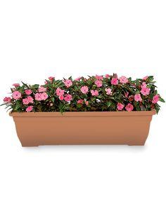 "31"" Self-Watering Trough Planter"
