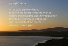 pabaigh/pabbay eyePoem...