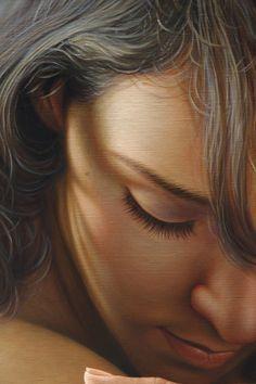 Peinture hyperréaliste par Omar Ortiz