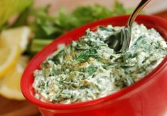 This recipe swaps out a popular dip's excess calories and saturated fat for healthier alternatives. Enjoy this creamy, delicious and heart-healthy dip any time with your favorite veggies.