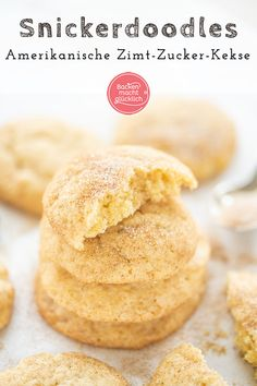 Baby Food Recipes, Baking Recipes, Cookie Recipes, Snicker Doodle Cookies, Quick Easy Meals, Food Items, Food To Make, Bakery, Pie