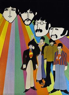 The Beatles - Yellow Submarine - US - Mini Print
