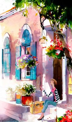 19 Creative Watercolor Painting Ideas (19)