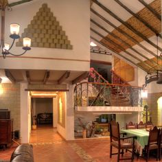 Loft, Bed, Furniture, Home Decor, Rustic Style, Villa De Leyva, Dining Rooms, Country Houses, Architects