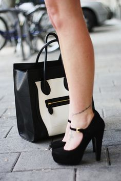 How much do I LOVE these shoes and bag?!