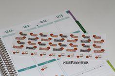 40 Basketball Planner Stickers Erin by LittlePlannerPrints