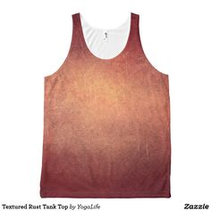 Textured Rust Tank Top