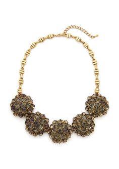 STELLA & RUBY Flower Statement Necklace | ideel