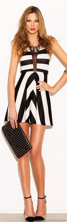 We just love the black and white trend! #fashion #steamboatchic
