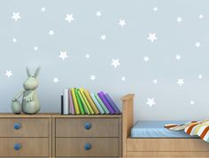Buy these star wall stickers to simply but effectively jazz up any home or office wall decor. Many star decals colour options available ** SHOP TODAY ** Baby Changing Unit, Wall Stickers Stars, Wall Transfers, Childrens Wall Decals, Bathroom Wall Stickers, Set Of Drawers, Star Wall, Sports Wallpapers, Office Wall Decor