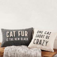 Cat Saying Throw Pillow, Set of 2 – Farmhouse Decor Outdoor Diy Pillows, Floor Pillows, Decorative Pillows, Throw Pillow Sets, Throw Pillows, Pillow Covers, Pillow Fight, Pillow Talk, Farmhouse Style Decorating