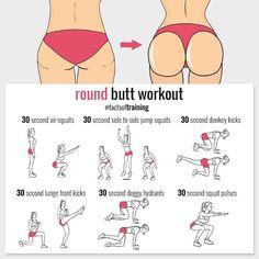 Round butt workout