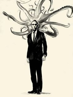 H P Lovecraft - Rosana Raven ☥~ Hp Lovecraft, Lovecraft Cthulhu, Caricatures, Illustrations, Illustration Art, Science Fiction, Yog Sothoth, Call Of Cthulhu Rpg, Lovecraftian Horror
