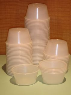 1 oz 2 oz Plastic Portion Cups Souffle Sauce with or Without Lid 50 Ct 100 Ct | eBay