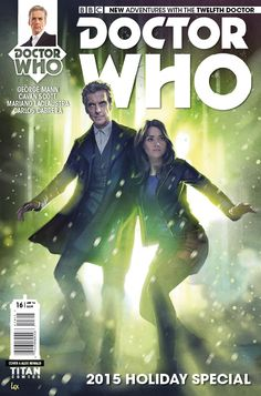Comic Book Preview: Doctor Who: The Twelfth Doctor Christmas Special - Bounding Into Comics
