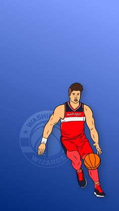 Phone Wallpaper for NBA forward from the Washington Wizards, Deni Advija. Israel Basketball