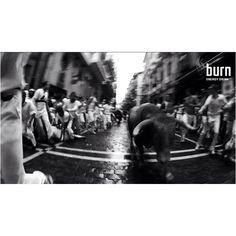 #burnsanfermin3D  San Fermin from the runners point of view with a 3D cameras  #sanfermin