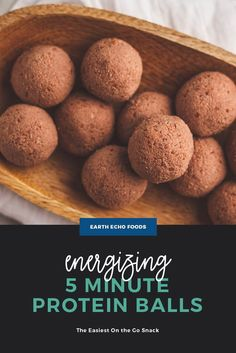 Add this recipe to your next meal prep day to have a power-packed snack to grab on the go throughout your busy week. Made with superfoods like Cacao Bliss and protein-rich collagen peptides, these protein balls are like no other. Cacao Chocolate, Healthy Chocolate, Dark Chocolate Chips, Chocolate Flavors, Dannette May Recipes, Snack Recipes, Keto Recipes, Smart Snacks, Healthy Snacks