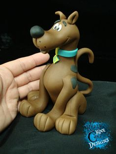 Scooby Doo Cake Topper by KrazyKoolCakeDesigns on Etsy
