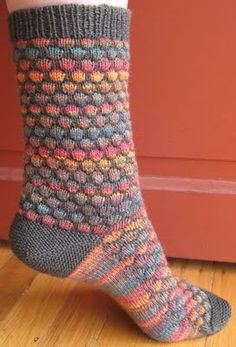 These are my favorite socks to knit!