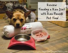 Review: Feeding a Raw Diet with Raw Paws® Pet Food #Sponsored