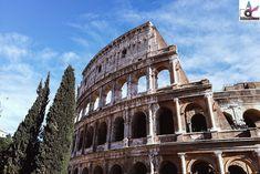 Das Kolosseum ist das Wahrzeichen Roms und die berühmteste Sehenswürdigkeit überhaupt. Diesen Eindruck bekommt man sehr schnell, wenn man die Menschenmassen erblickt, die in Richtung des gigantischen Amphitheaters gehen. Hier kämpften bekanntlich Gladiatoren gegeneinander und gegen wilde Tiere für Ruhm und Gold – und heute stehen wir dort wo einst Siege gefeiert und Niederlagen hart bestraft wurden. Piazza Navona, Louvre, Mansions, House Styles, Building, Gold, The Colosseum, Gladiators, Statues