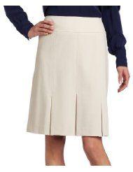 Jones New York Womens Petite Pleated Skirt