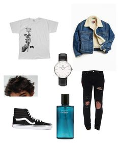"""Untitled #15"" by inasm on Polyvore featuring Tommy Hilfiger, AMIRI, We Are Still Bold and Beautiful, Vans, Daniel Wellington, men's fashion and menswear"