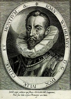 John William of Jülich-Cleves-Berg (German: Johann Wilhelm, Herzog zu Kleve, Julich und Berg) (28 May 1562 – 25 March 1609) was a Duke of Jülich-Cleves-Berg.His parents were William the Rich, Duke of Jülich-Cleves-Berg (1516–92) and Maria of Austria (1531–81), a daughter of Ferdinand I, Holy Roman Emperor and Anna of Bohemia and Hungary.He grew up and was educated in Xanten. John William became Bishop of Münster.