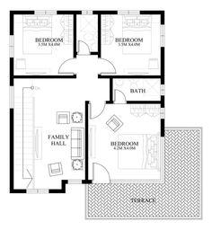 Small House Designs plan ready Modern House Design Series Mhd 2014012 Pinoy Eplans Modern House Designs