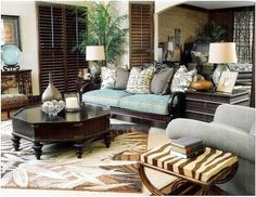 Latest trend in home decoration used animal printed accessories