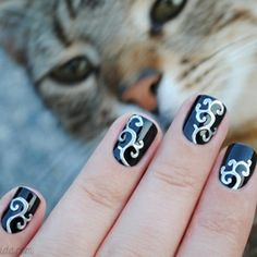 Do it yourself nail stickerst sure if this is what i think a england camelot born pretty store embossed nail stickers solutioingenieria Image collections