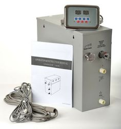 Steam Generator Kit 6 KW with Control Panel Steambox for Shower Steam Planet New