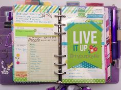 My Purpley Life: Filofax