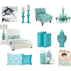 LOVE the Tiffany Blues everywhere!