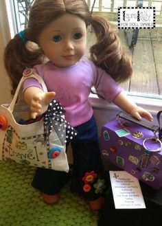 Camp Doll Diaries – Doll Sized Travel Bag