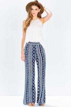 wideleg pants