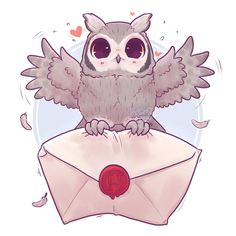 Pigwidgeon!! I adore this keen bean :3 I love this tiny owl ✨ What hogwarts pet would you like to see next?