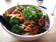 Teriyaki Chicken & Rice Bowl