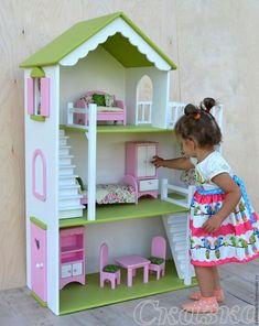 doll house from Costco! doll house from Costco! Barbie Furniture, Dollhouse Furniture, Kids Furniture, Wooden Dollhouse, Diy Dollhouse, Doll House Plans, Toy House, Barbie Doll House, Child Doll