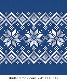 Find Winter Sweater Fairisle Seamless Knitting Pattern stock images in HD and millions of other royalty-free stock photos, illustrations and vectors in the Shutterstock collection. Beginner Knitting Patterns, Fair Isle Knitting Patterns, Crochet Stitches Patterns, Knitting Stitches, Knitting Designs, Cross Stitch Designs, Cross Stitch Patterns, Tejido Fair Isle, Norwegian Knitting