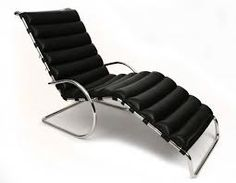 MR Chaise Lounge. Ludwig Mies Van der Rohe -