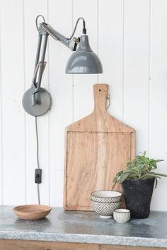 Verlicht je interieur waar je maar wilt met deze Architect wandlamp.