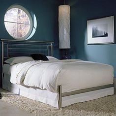 Fashion Bed Group Chatham Contemporary Metal Bed - Queen