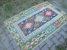 KAYSERI Vintage Kilim Rug Kilim beste Kilim Anatolië ontwerp goed Decor tapijt