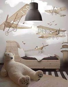 camas de aprendizaje infantiles con barandas en madera!
